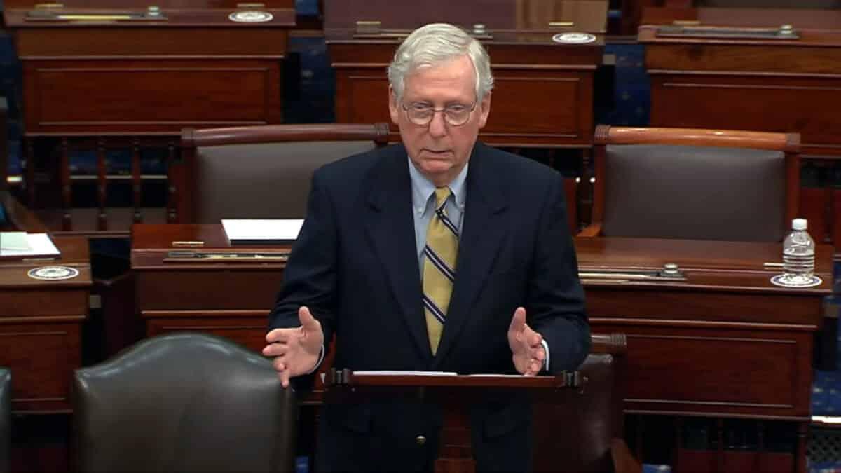 McConnell Urges GOP Senators to Vote Against Jan. 6 Commission 1