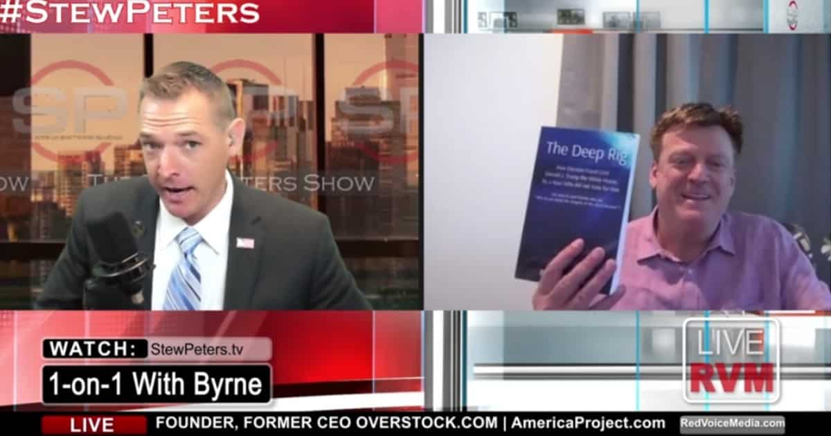 VIDEO: Patrick Byrne Defends His 2020 Election Claims, Describes Trump's Missed Opportunity To Stop The Steal 1