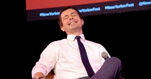Host Laughs as Pete Buttigieg Predicts 30 Senate Republicans May Vote for 'Infrastructure' Plan 1
