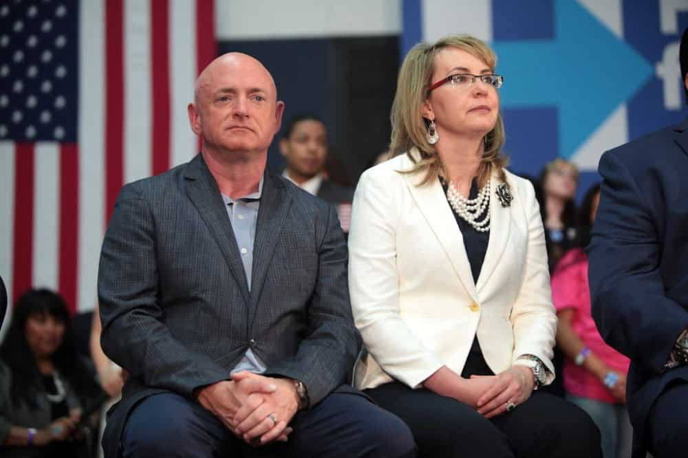 Conflict Of Interest: Arizona Lawmakers To Call For Sen. Mark Kelly To Recuse From ATF Vote Over Giffords Ties 1