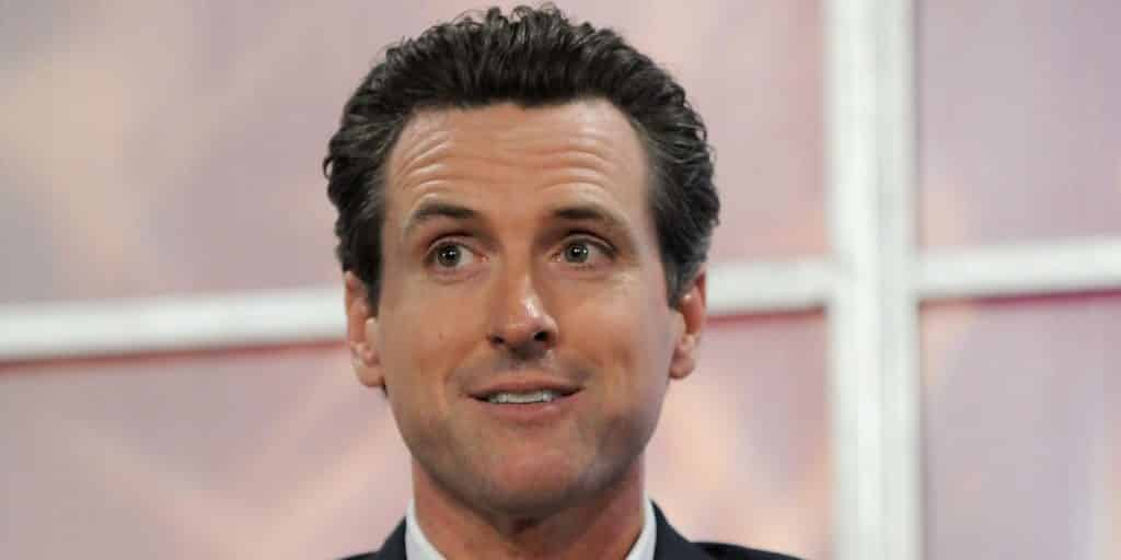 Newsom Sues to Get 'Democrat' on Ballot After He Forgets to List His Party ID 1
