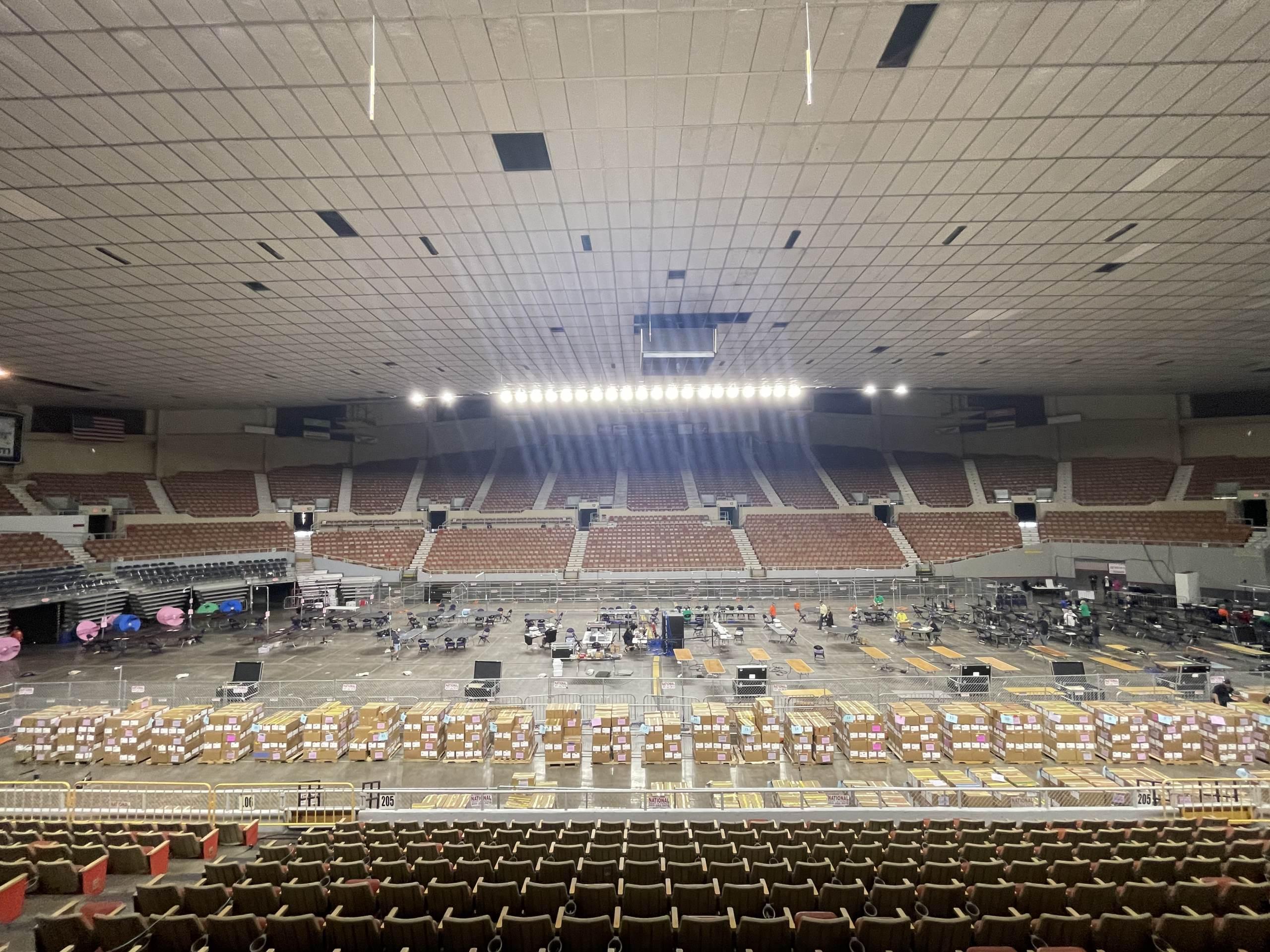 Arizona Audit Vacates Coliseum – Prepares To Return Ballots To Maricopa County WITH Chain Of Custody 1