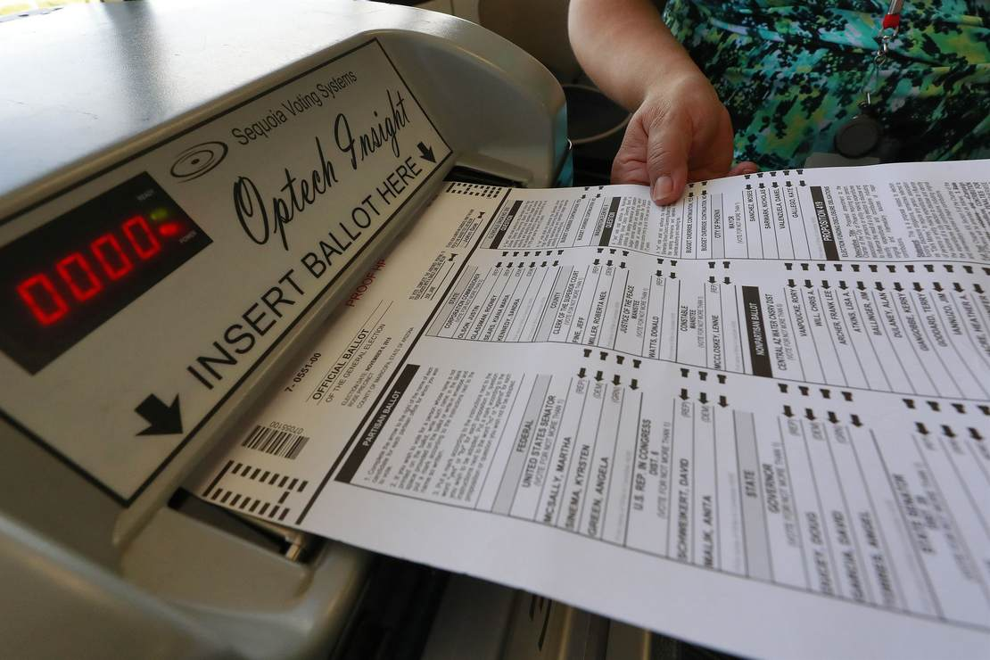 The Maricopa County Audit Completed Paper Ballot Examination. Here's What Happens Next 1