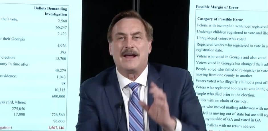 Mike Lindell Loses Law Firm Representation After New Suit Against Election Machine Companies 1