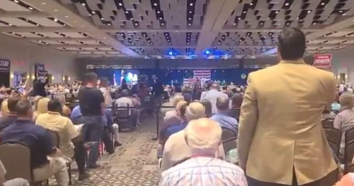 BREAKING: Trump Hating Georgia Gov. Brian Kemp Greeted By Massive Boos At GOP Convention 1