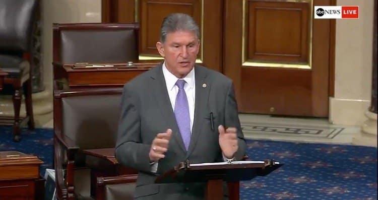 Senator Manchin to Vote Against Democrats' Sweeping Voting Bill 1