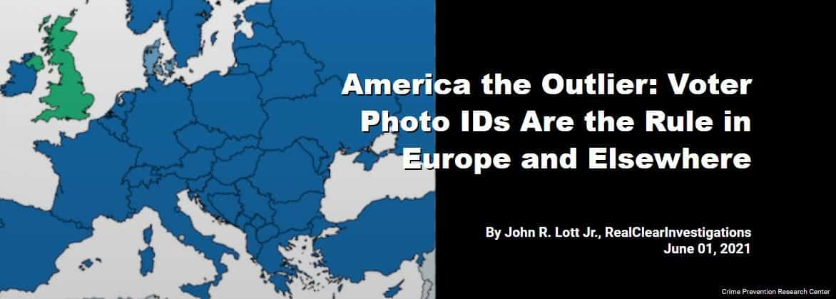 America the Outlier: Voter Photo IDs Are the Rule in Europe and Elsewhere 1