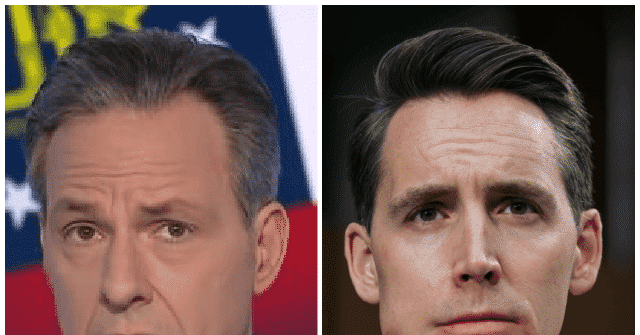 Emails Show Jake Tapper Tried Booking Josh Hawley 18 Times on Show Despite Claims He Was Banned Over January 6 1