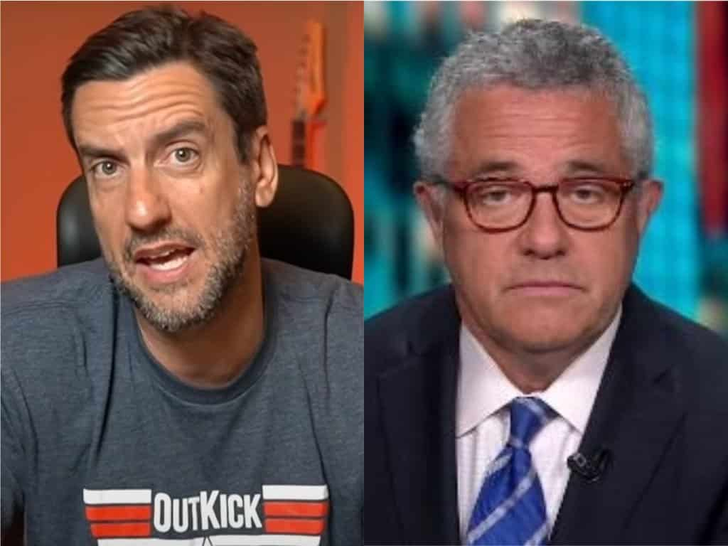 CNN Banned Clay Travis For Saying 'Boobs' But Welcomes Public Masturbator Jeffrey Toobin Back With Open Arms 1