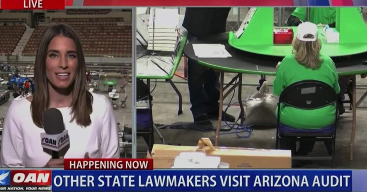 BREAKING: Pennsylvania Sends Delegation To Arizona, State Legislators To Tour Audit Facility 1