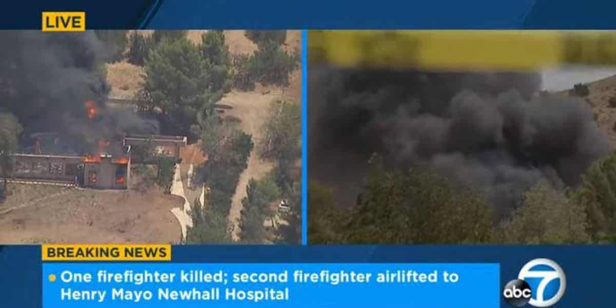 1 firefighter killed, 1 wounded in shooting at California fire station; suspect's home torched 1