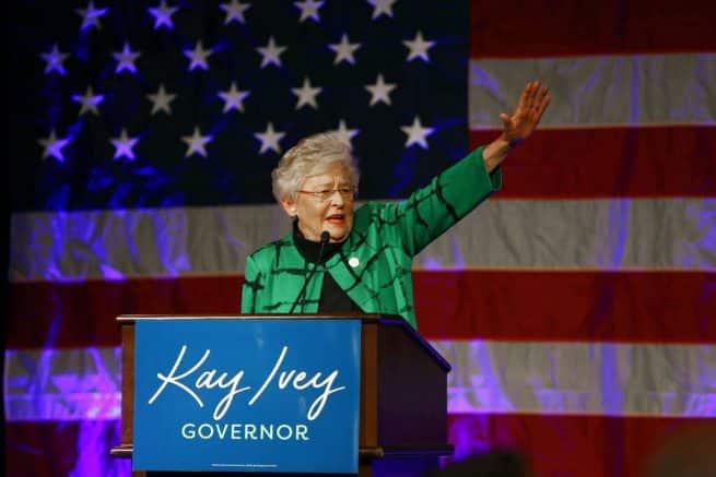Ala. Gov. Kay Ivey to seek re-election in 2022 1