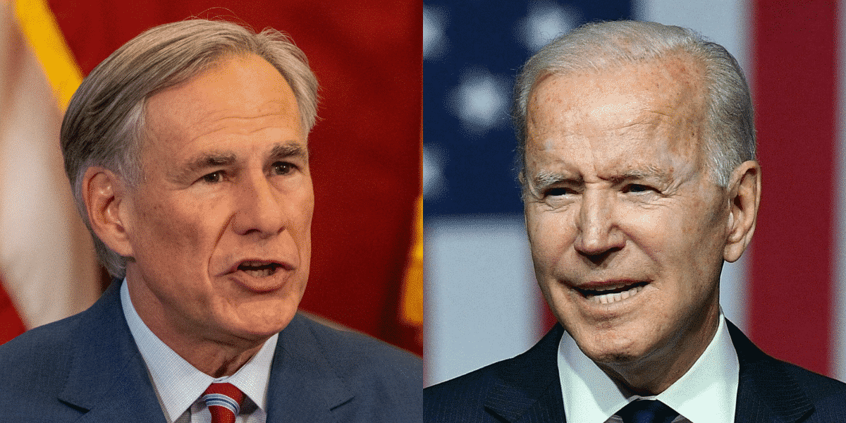 Texas governor slams Biden over election bill slander: 'I bet he doesn't have a clue what's in there' 1