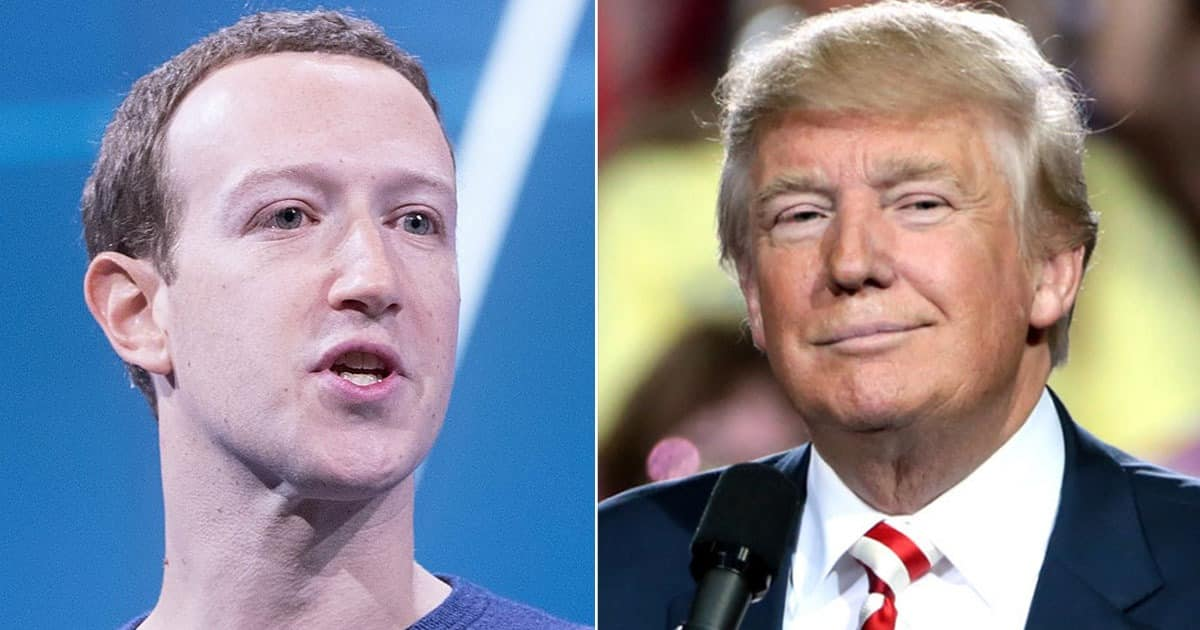 BREAKING: Facebook Says Trump Will Remain Banned For Two Years, Crushing Hopes That He Could Rejoin Big Tech Platform 1