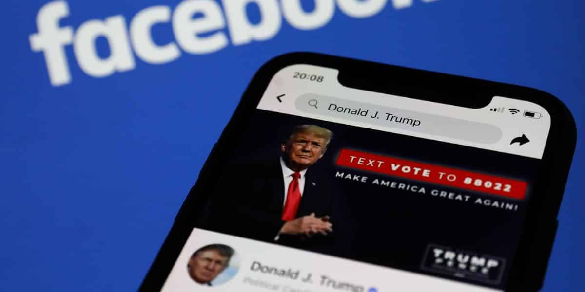 Facebook: Trump will remain banned through at least January 7, 2023 1