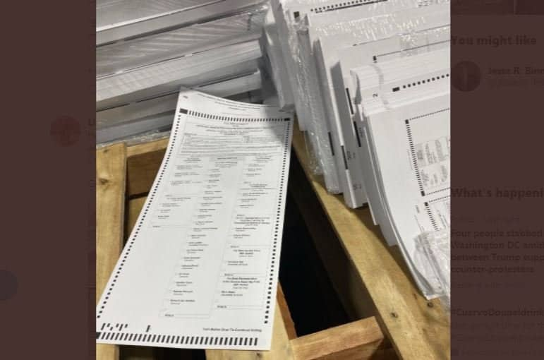 Georgia Conducting Secret 2020 Ballot Review — Keeping Plaintiffs in the Dark 1