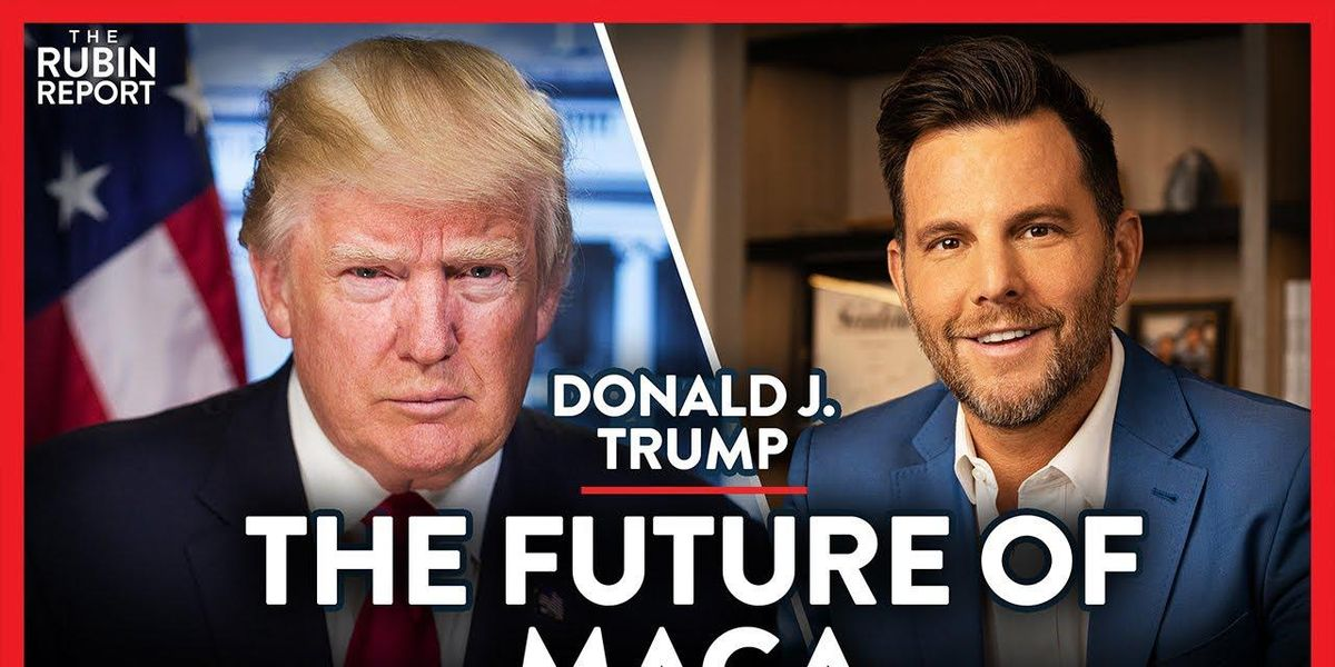 WATCH: DONALD TRUMP joins 'The Rubin Report' to talk Big Tech censorship, corrupt media & the future of MAGA 1