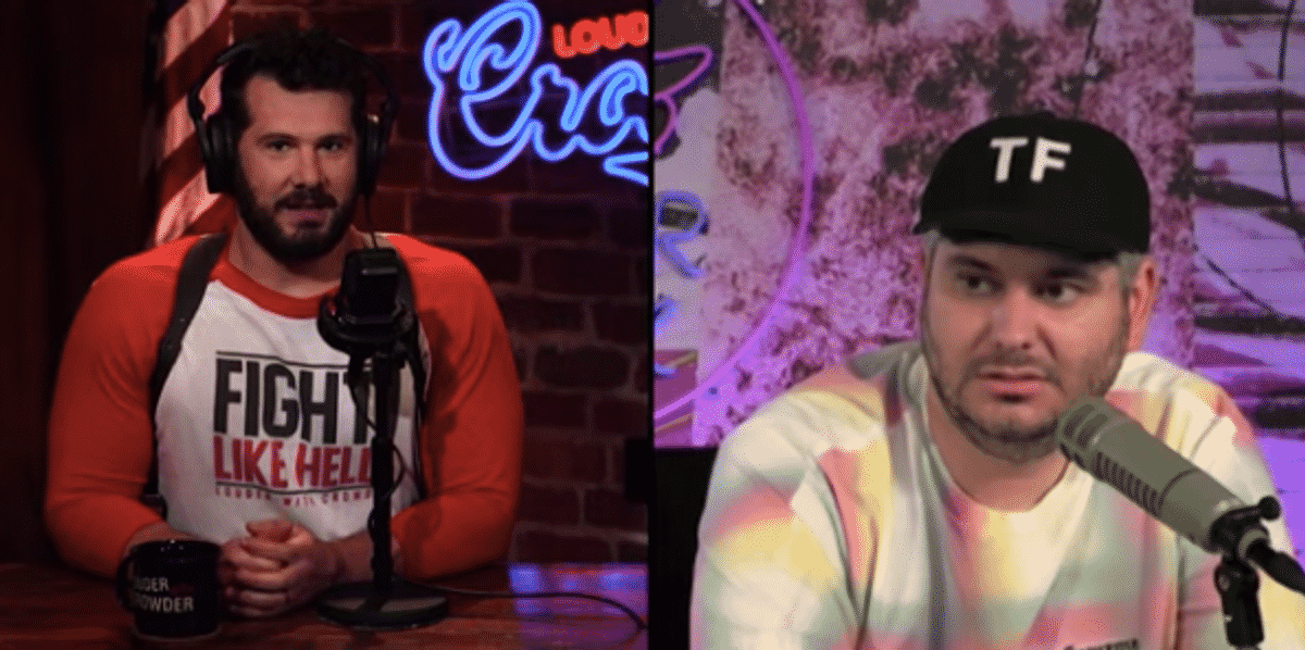 CROWDER questions how podcaster went from triggering feminists to calling for Big Tech censorship 1
