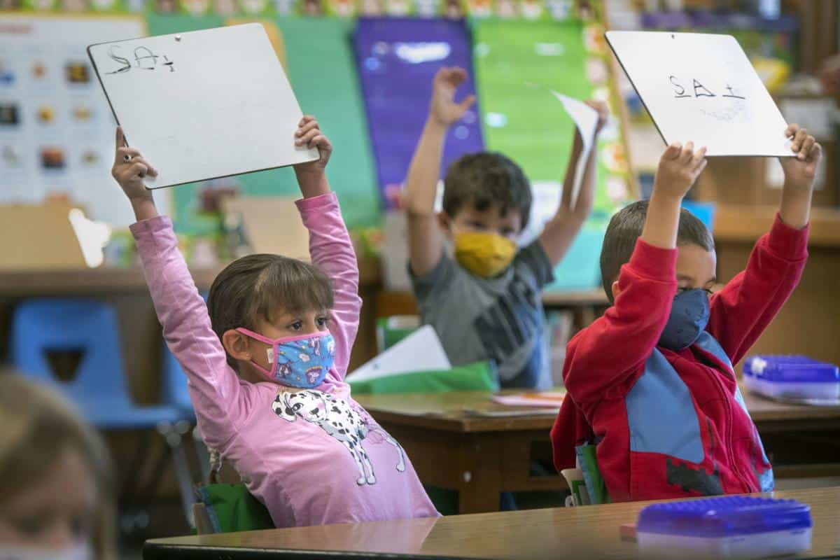 California Teachers Unions Team Up With Democrats To Mask Students In Half-Hearted Return To School 1