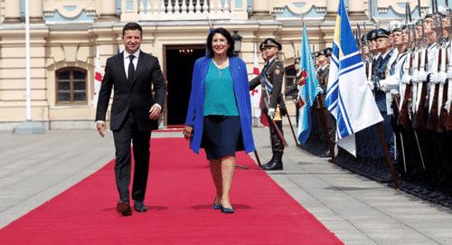 "Georgia & Ukraine Agree To ""Commitment"" Seeking NATO Membership 1"