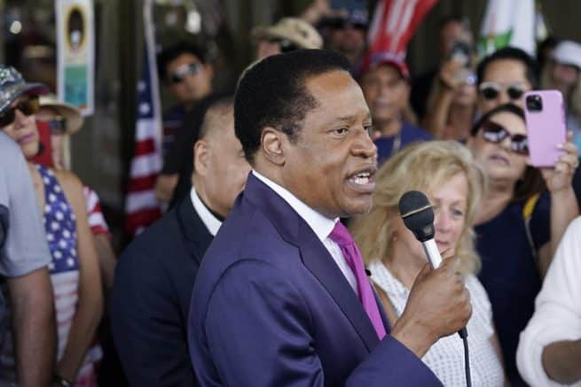 Republican Larry Elder threatens to take legal action after disqualification from Calif. gubernatorial recall election 1
