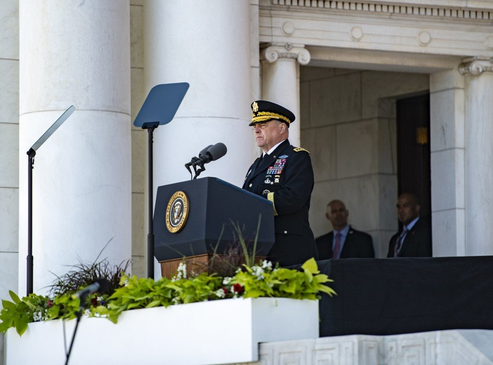 Did You Miss The Chairman Of The Joint Chiefs Of Staff Labeling Trump Voters Enemies Of The State? 1