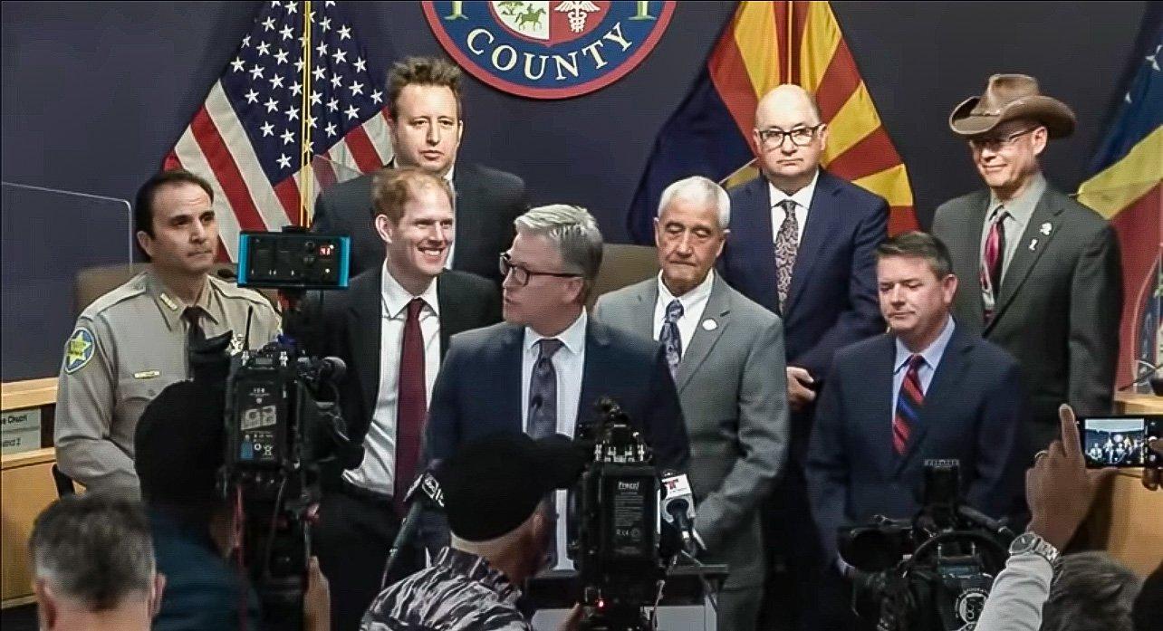 "Crooked Arizona Secretary of State Katie Hobbs Pushed ""Virtual Voter Registration"" by Telephone 1"