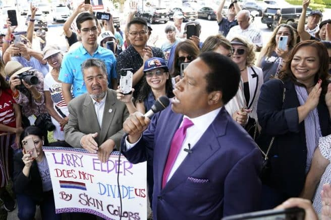 Larry Elder sues Calif. Secy. of State after he was excluded from ballot 1