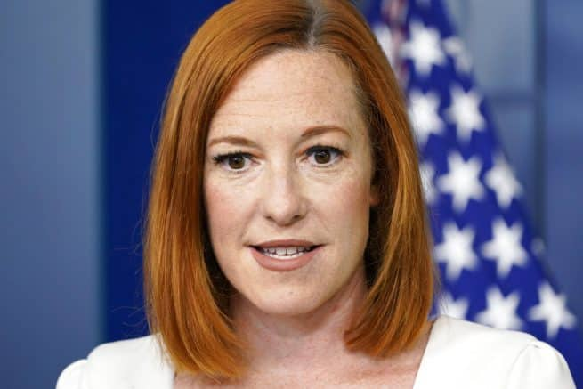 Press Secy. Psaki falsely claims election integrity laws are 'voter suppression' 1