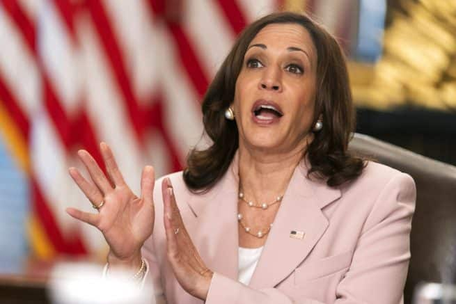 Harris welcomes, praises delinquent Texas Democrats who fled state to avoid passing election integrity laws 1