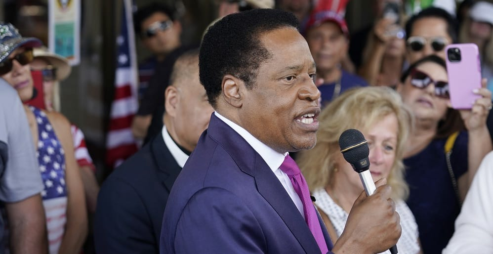 California SOS Excludes Larry Elder from Recall Election Without Explanation 1