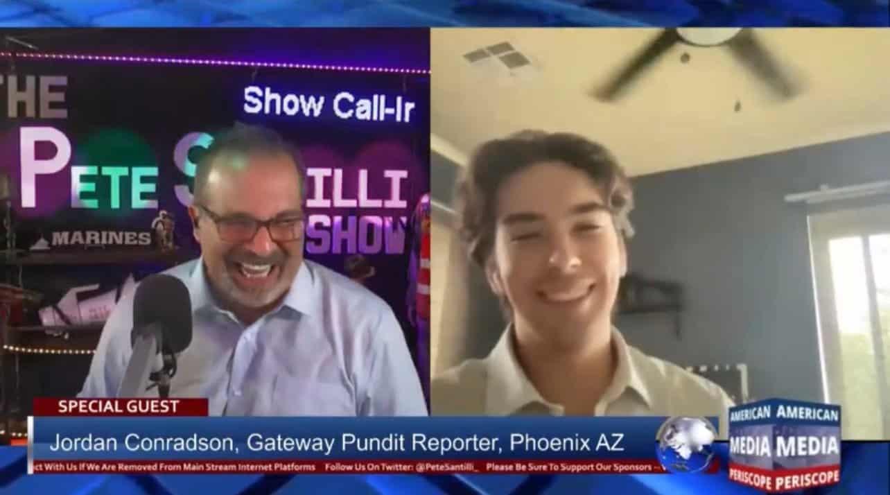 TGP'S Jordan Conradson Joins Pete Santilli to Talk America's Audit (VIDEO) 1