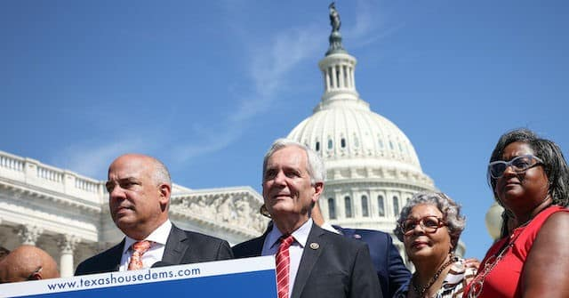 Democrats Political Theater in D.C. Doesn't Stop Texas Senate from Passing Voter Integrity Bill 1