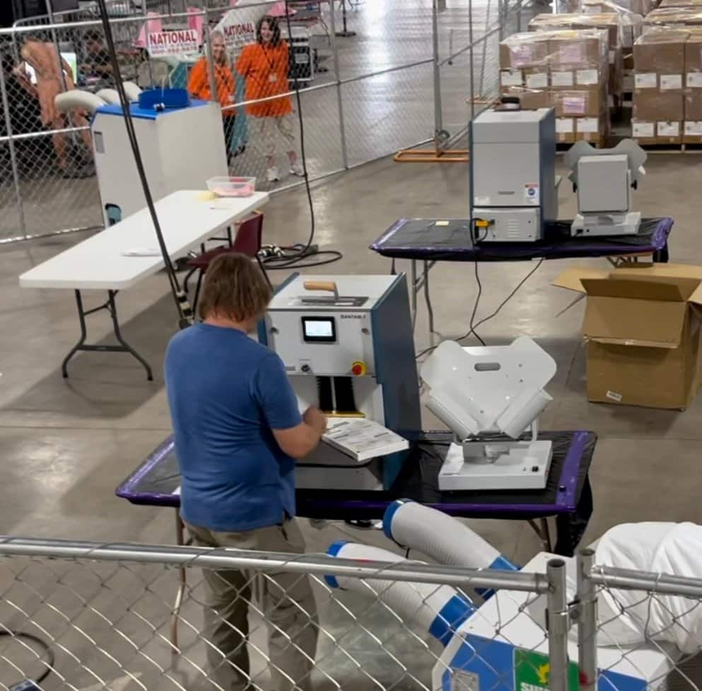 Arizona Audit Update: New Machines In Use With New Equipment 1