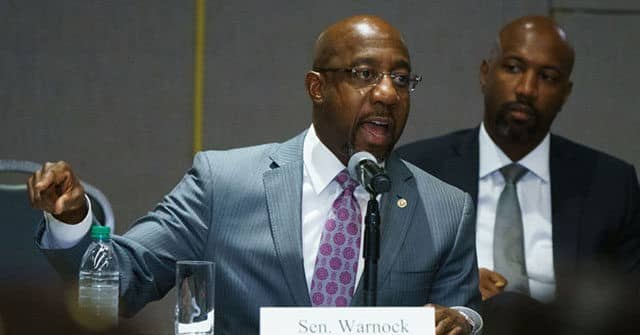 Raphael Warnock at Georgia 'Voter Suppression' Hearing: We're in '9-1-1 Emergency for Our Democracy' 1