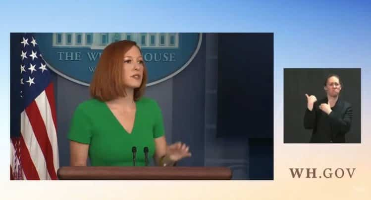 """Psaki Says Americans Who Post """"Misinformation"""" Should be Banned From All Platforms (VIDEO) 1"""