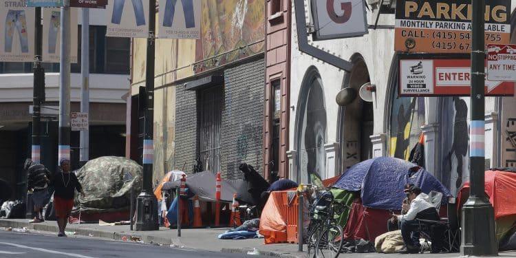 Newsom Invites Nation's Homeless to Move to California 1