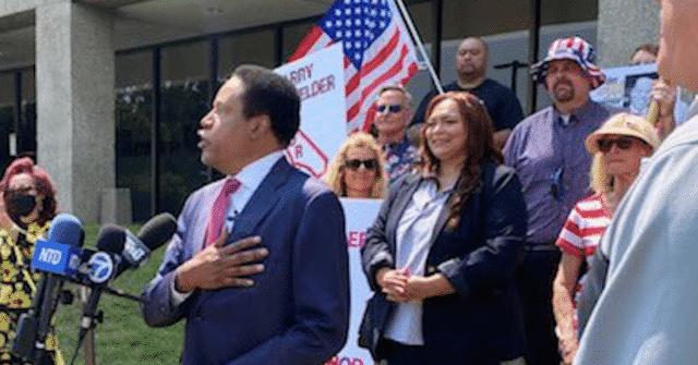Larry Elder Sues California over Ballot Exclusion: 'Voter Suppression' 1