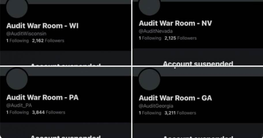 Breaking: Twitter Suspends All Election Audit 'War Room' Accounts; Senator Wendy Rogers Predicts She Will Be Next 1