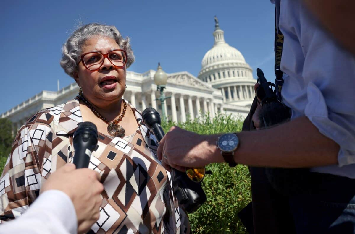 Texas Democrats Defend Walkout at Congressional Hearing on GOP's Election Overhaul Bill 1