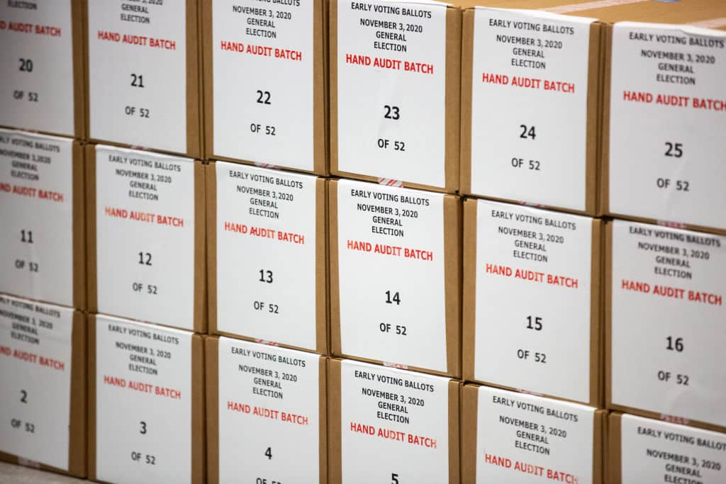 Ariz. audit completes ballot recount, begins analysis 1
