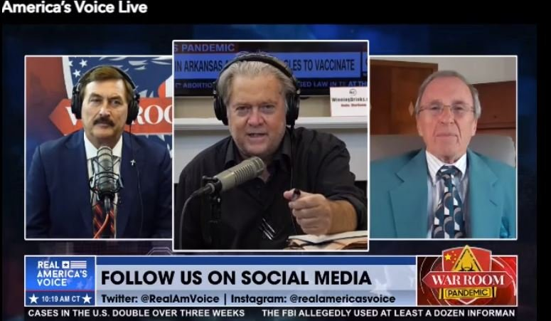 Steve Bannon: Georgia's Brad Raffensperger and Gabe Sterling Need to Lawyer Up NOW (Video) 1
