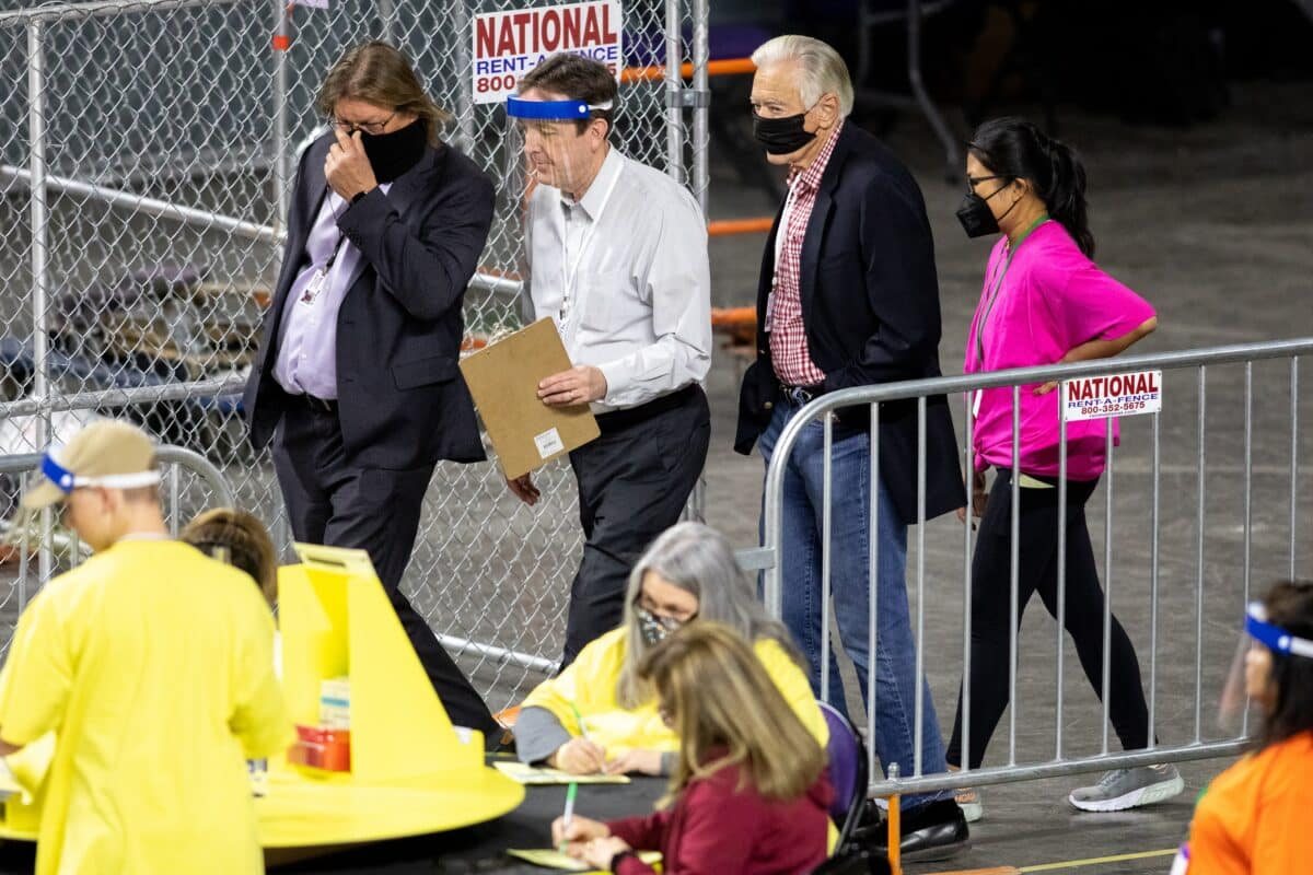 Arizona Auditors 'Still Waiting' for 'Missing Items' Subpoenaed From Maricopa County: Senate Leader 1