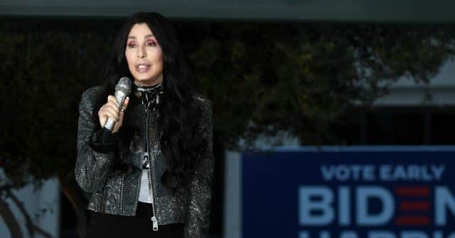 Cher Launches America Hating Fake News Tirade About Voter Integrity Laws: 'I've Always Known We Were a Racist Country' 1