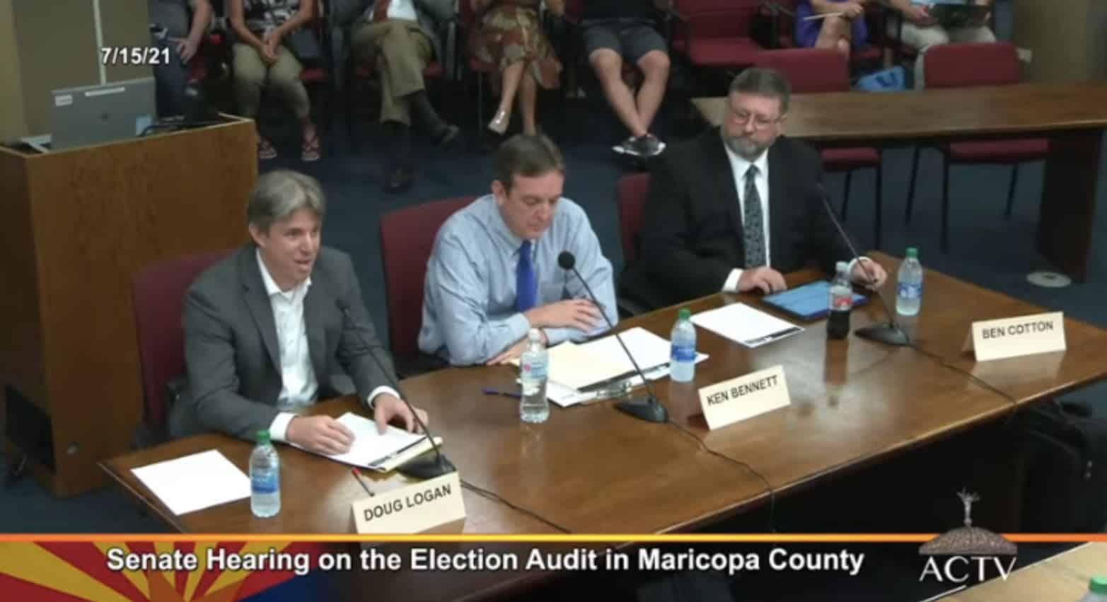 AZ SENATE HEARING: Live Blog of the Audit Hearing (VIDEO) 1