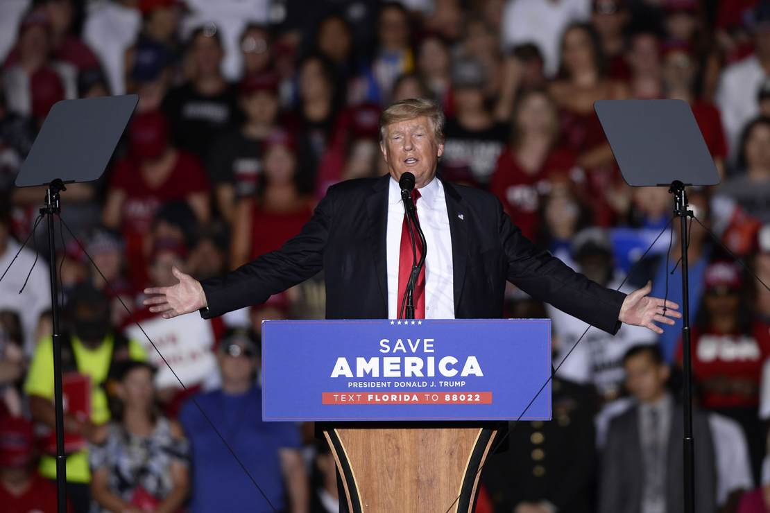Trump Praises Arizona Republicans Spearheading Election Audit at Rally 1