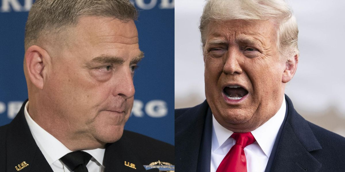 'This is a Reichstag moment': Gen. Milley compared Trump to Hitler over claims about election fraud, new book says 1
