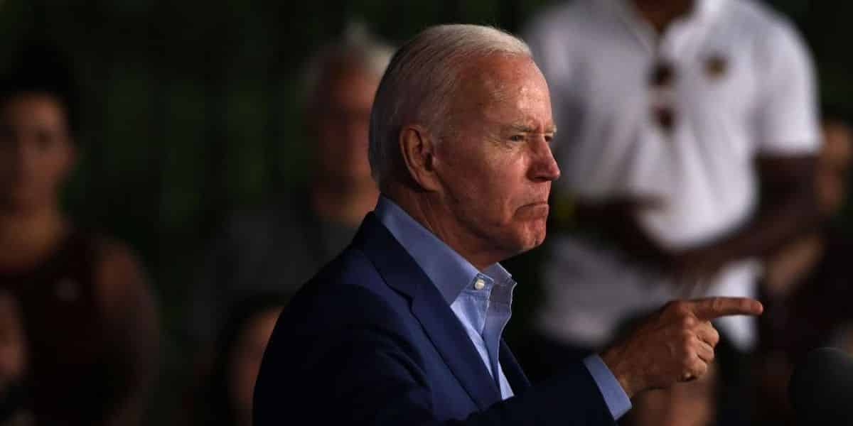 Biden heckled during Virginia event, takes shot at Trump and his rallies 1