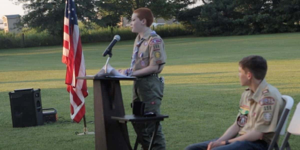 Virginia teen is recognized as first 'nonbinary' Eagle Scout 1