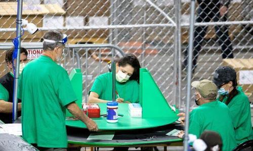 Auditors Finish Counting Ballots In Arizona's Maricopa County 1